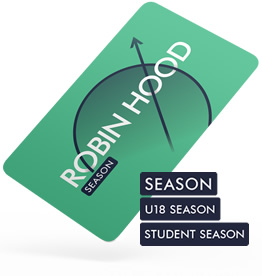 Robin Hood Network Season Card